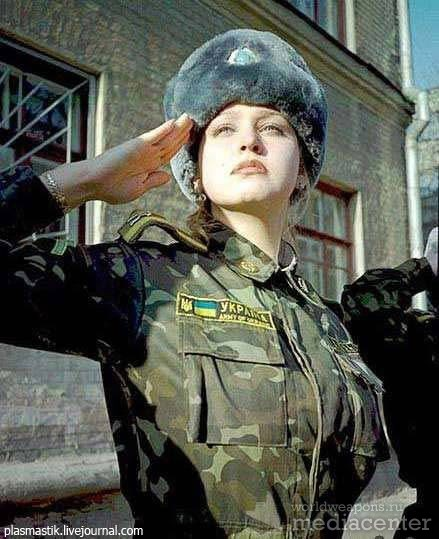 Военные девушки в украине