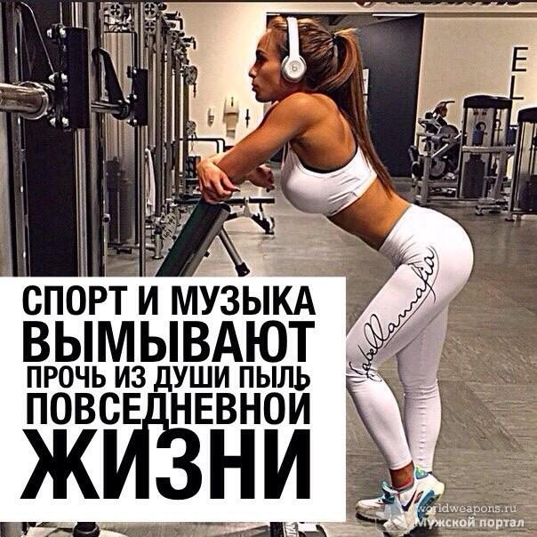 Спорт и музыка вымывают прочь из души пыль повседневной жизни.