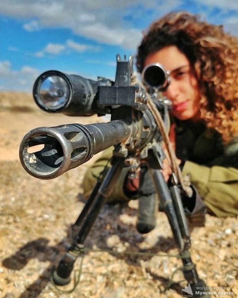 Вооружены и прекрасны. Девушки с оружием, Подборка фотографий девушек-военнослужащих Армии Обороны Израиля.