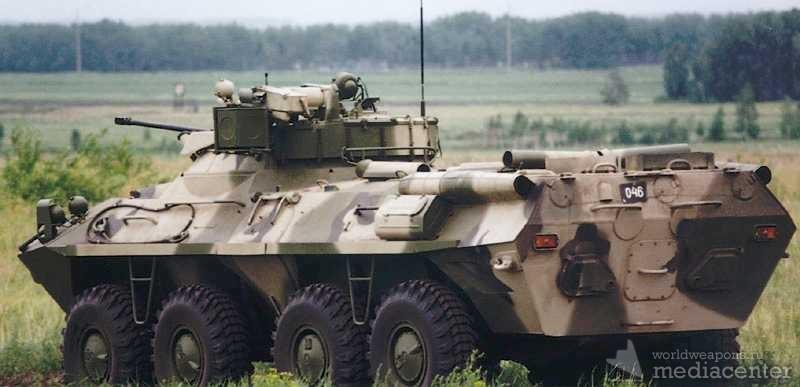 Бронетранспортер БТР-90 Россия