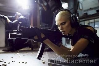 Gun Black Cool Dark - девки с оружием.