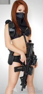 Michelle - Hot Ninja Girl... Девушки с вооружением мира.