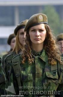 Красивые военные девушки из россии