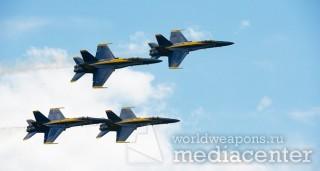 Пилотажная группа - Голубые ангелы