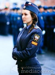 Девушки в МВД России