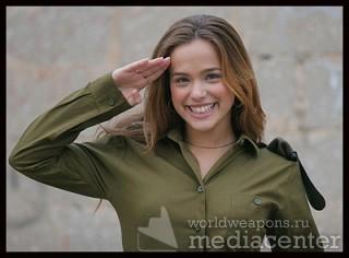 Красивые военные девушки   Израиль