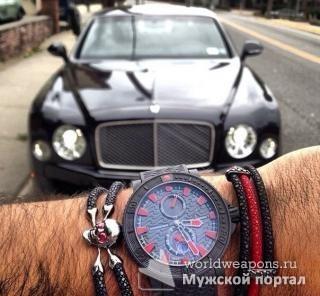 Мужчина, часы, время, бэнтли, бизнес, фото для цитаты.